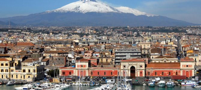 Un week end in Sicilia tra neve e mare