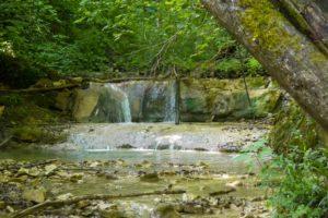 Visitare le cascate di Bucamante