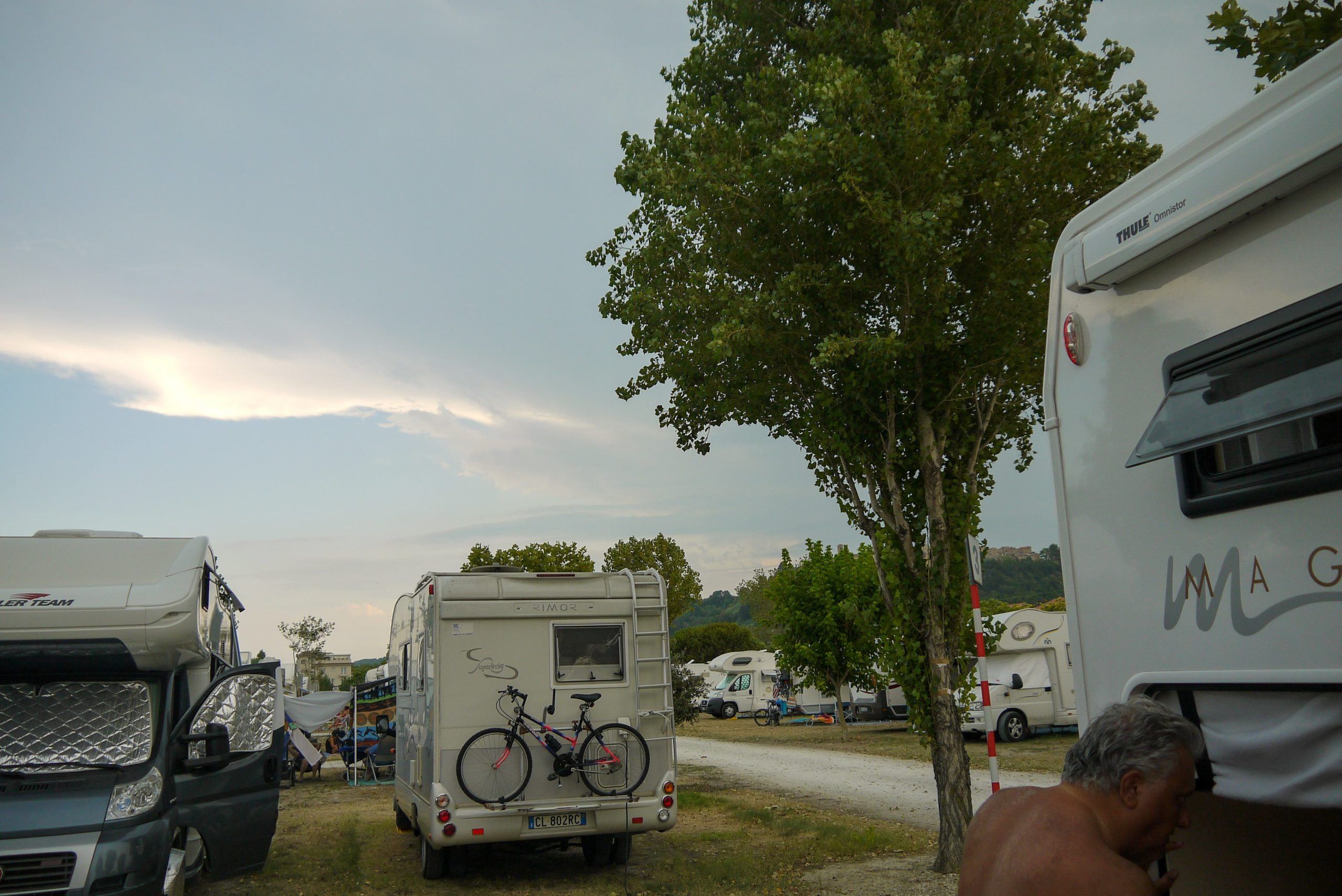 aree di sosta camper in italia