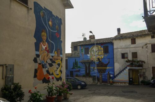 Paesi dipinti in Italia