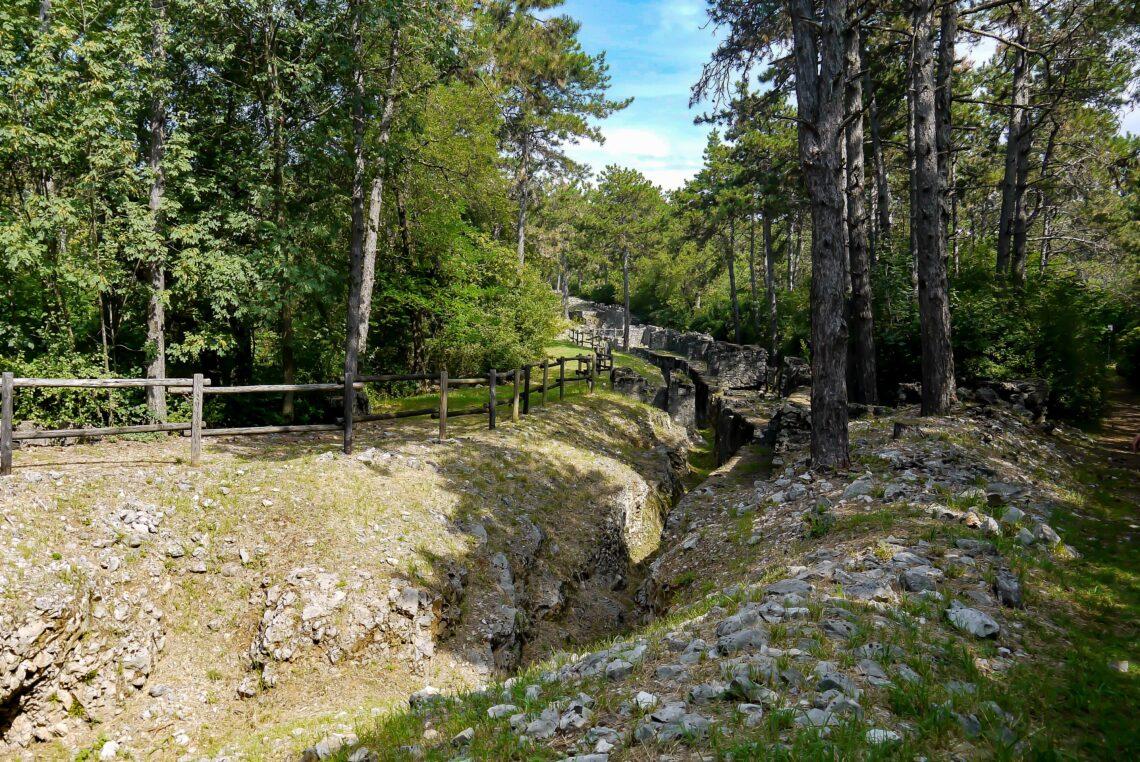 Visita al Parco della Grande Guerra a Monfalcone